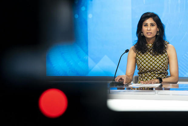 IMF's Gita Gopinath on financial recovery in the wake of COVID-19 1