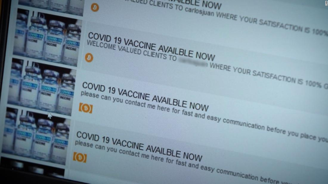 The truth behind Covid-19 vaccines for sale on the dark web 1