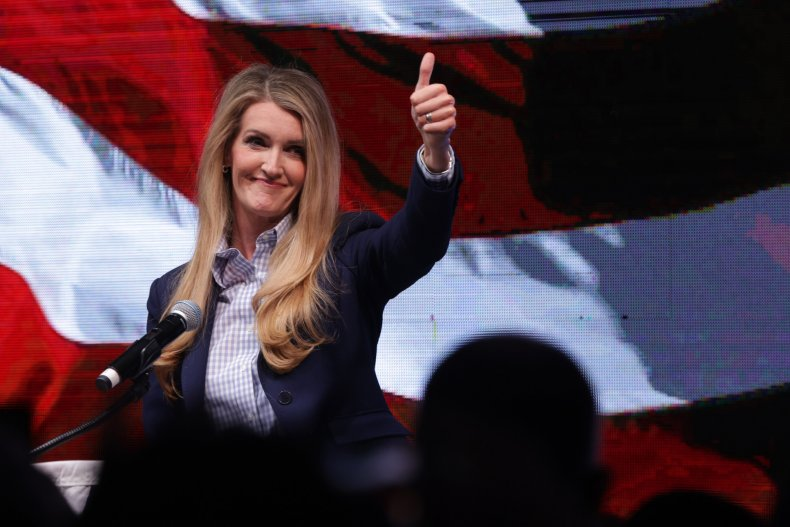 Kelly Loeffler's 'Greater Georgia' Launch Party Met With Protests Against New Election Law 1