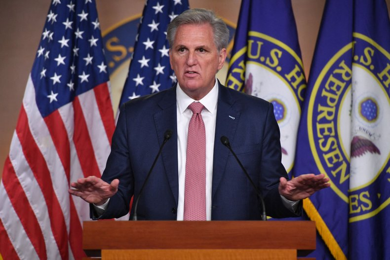 Kevin McCarthy Denies Covering Up for Insurrectionists Over Capitol Riot Commission 1