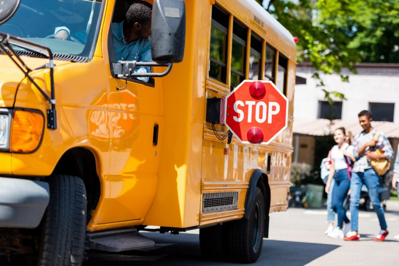 Bus Driver Fired After Slapping Child in the Face for Wearing Mask Improperly 1