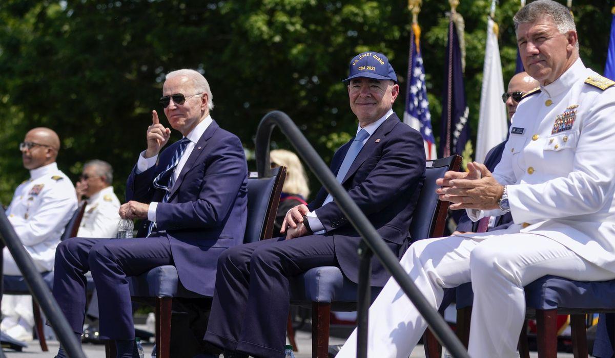 Joe Biden spurs on Coast Guard Class of 2021 to embrace 'global' mission 1
