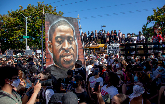 Photos: A look back at Bay Area protests after George Floyd's death 1
