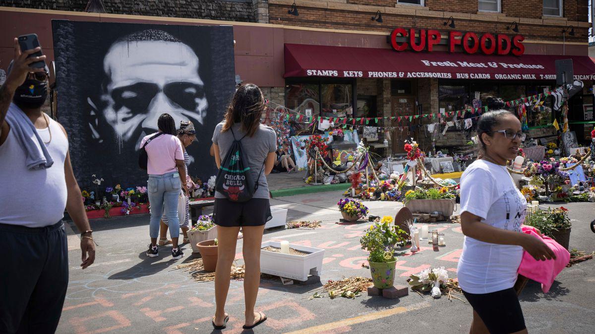 Gunshots heard near site of George Floyd's death as Minneapolis residents prepare to mark anniversary 1