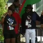 Breonna Taylor's aunt speaks at George Floyd memorial event 5