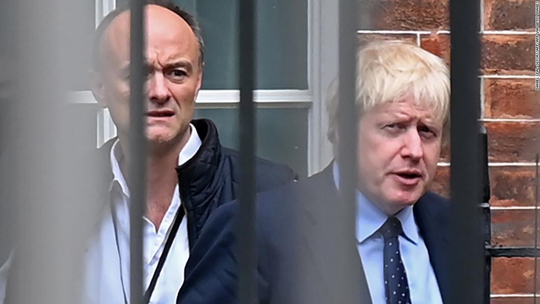 Boris Johnson's former senior adviser says UK fell 'disastrously short' on Covid-19 1