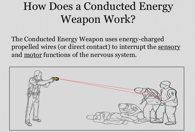 """How Police Sanitize Tasing People: """"Officer Used His Conducted Energy Weapon"""" 1"""