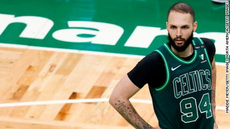 'It's like having a concussion,' says Boston Celtics' Evan Fournier of lingering Covid-19 side effects 1