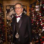 Vintage Vegas sommelier restocking wines for 100% reopening 13