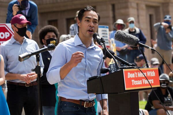 As Texas Voting Restrictions Near Passage, Democrats Stage Protest 1