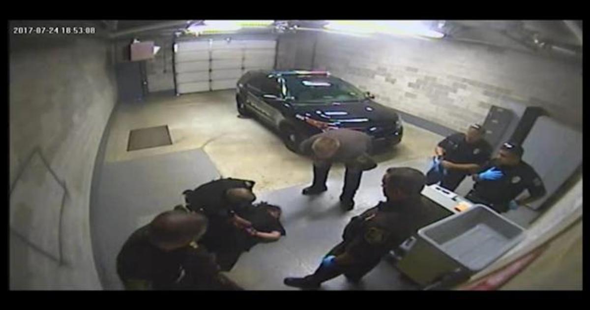 Jail video shows officer slamming handcuffed woman 1