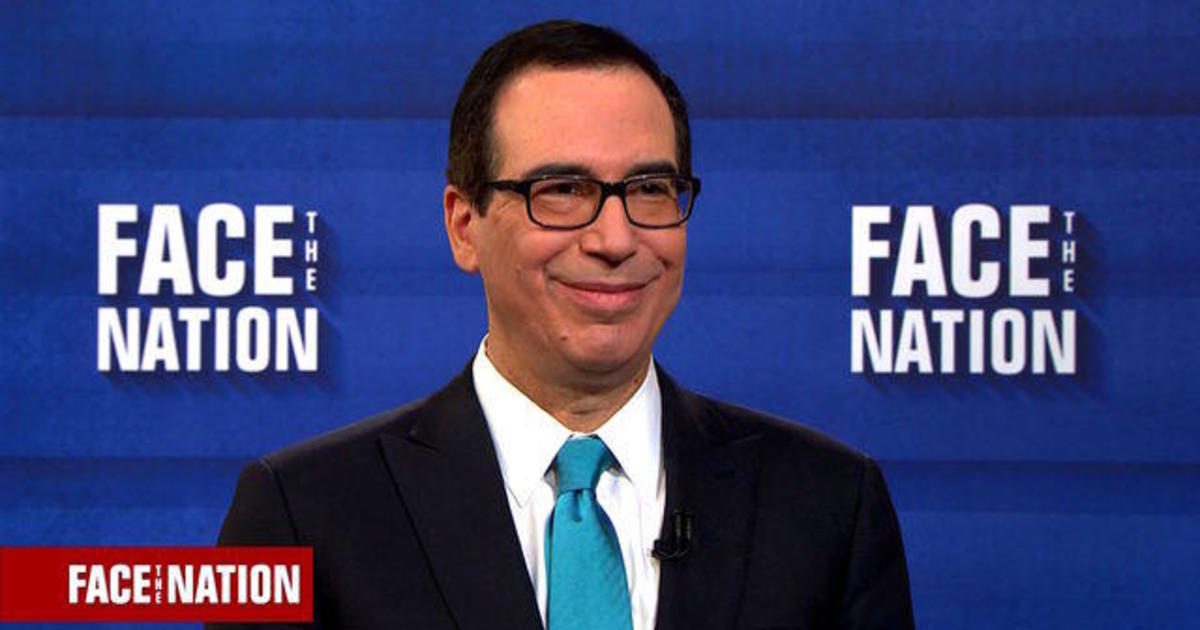 """Mnuchin says the middle class will see benefits from the tax bill """"right away"""" 1"""