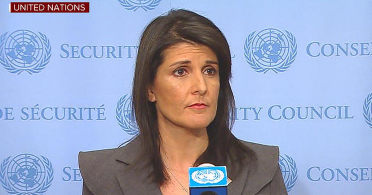 Nikki Haley addresses Iran protests, North Korea at U.N. 1
