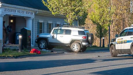 DA: Officers fatally shoot man who rammed his SUV into a Massachusetts police station 1