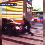 Driver strikes NYPD officer in Times Square 5