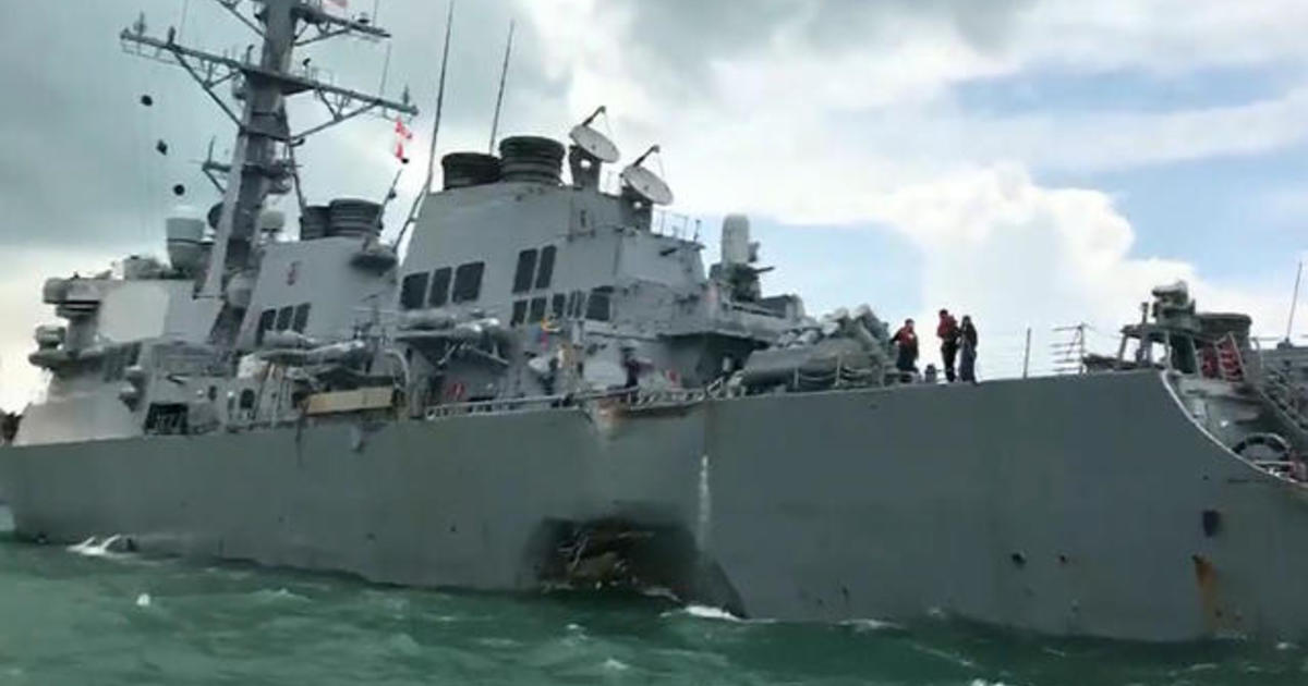Navy charging officers with negligent homicide after 2017 ship collisions 1