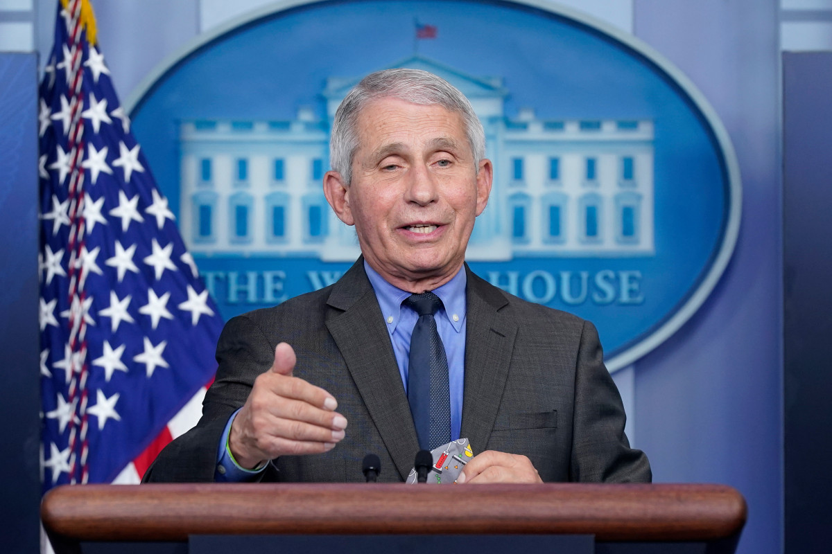 Fauci: Time to be 'more liberal' on masks as vaccinations increase 1