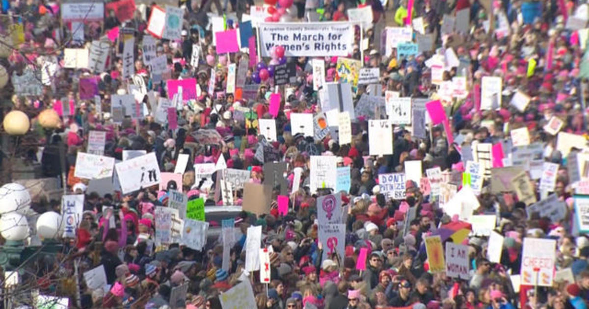 Women's March organizers shift focus to getting women in office 1