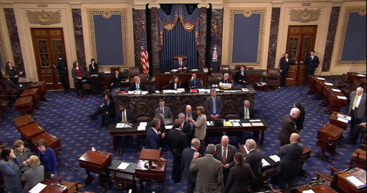 Last-ditch effort to keep the government open fails in Senate 1