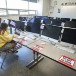 Only 7% of LAUSD high school students return to reopened campuses, far less than expected 8