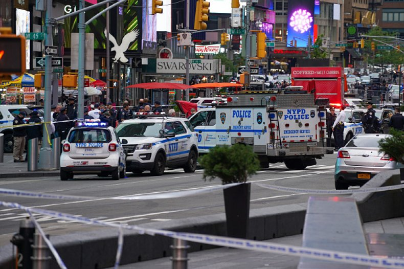 Alyssa Vogel, Police Officer Who Saved 4-Year-Old in Times Square Shooting, Credits 'Instinct' 1