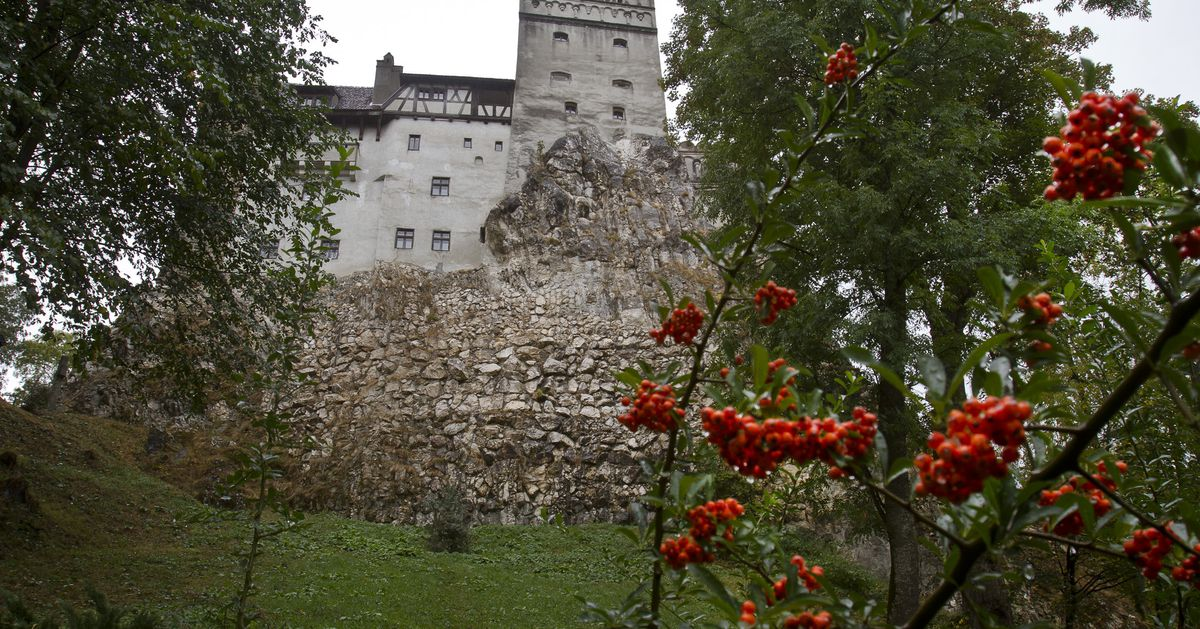 Dracula's castle proves an ideal setting for COVID-19 jabs 1