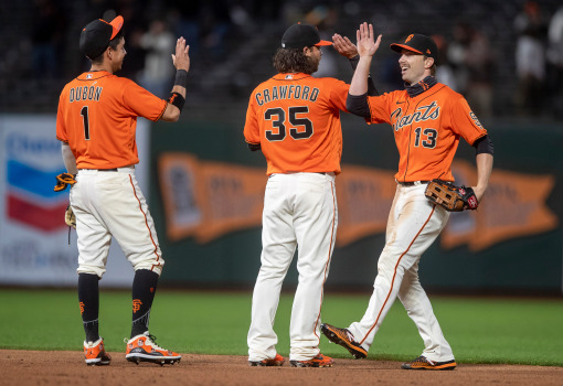 SF Giants set to clear MLB's vaccination threshold, 'Mustache May' to become mask-free 1