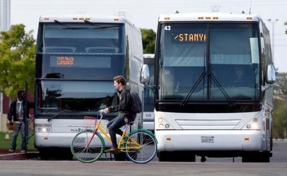 COVID: Google to re-start employee shuttle buses as it re-opens Bay Area offices next month 1