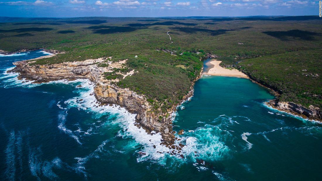Nude sunbathers running from deer fined for violating Sydney lockdown 1