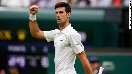 Novak Djokovic comes from behind to win Wimbledon opener 1