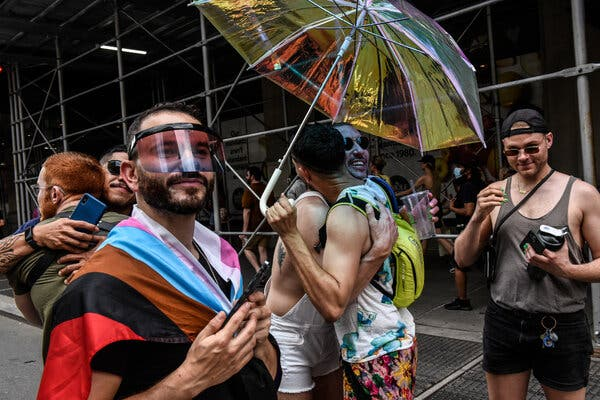 Pride Parties and Protests Bring Excitement Back to N.Y.C. Streets 1