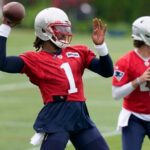 Cam Newton posts video of offseason workout with Patriots receivers 8