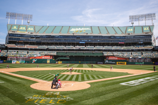 A's draw smallest crowd in 34 years with Coliseum fully reopened, but team expects 30,000 against Red Sox 1
