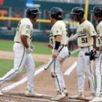 College World Series: Big 1st inning sends Vanderbilt past Mississippi State 2 in finals opener 5
