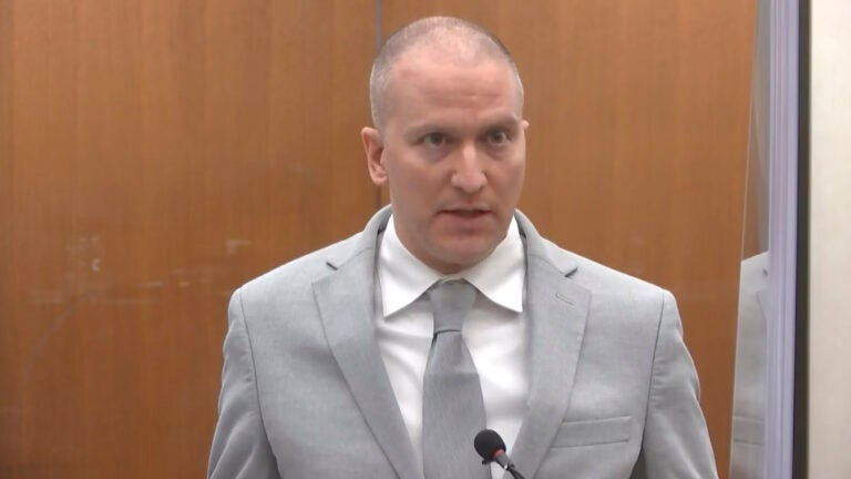 Chauvin gets 22 1/2 years in prison for George Floyd's death 1