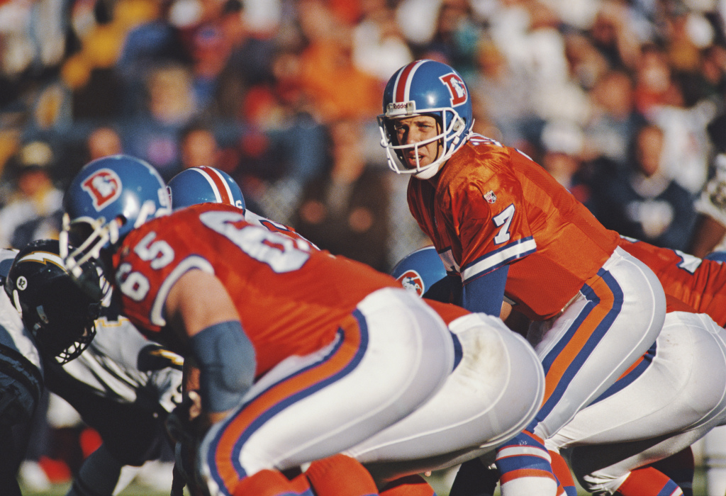 Grading the Week: Time for Broncos to bring back classic helmets of Orange Crush, John Elway days 1