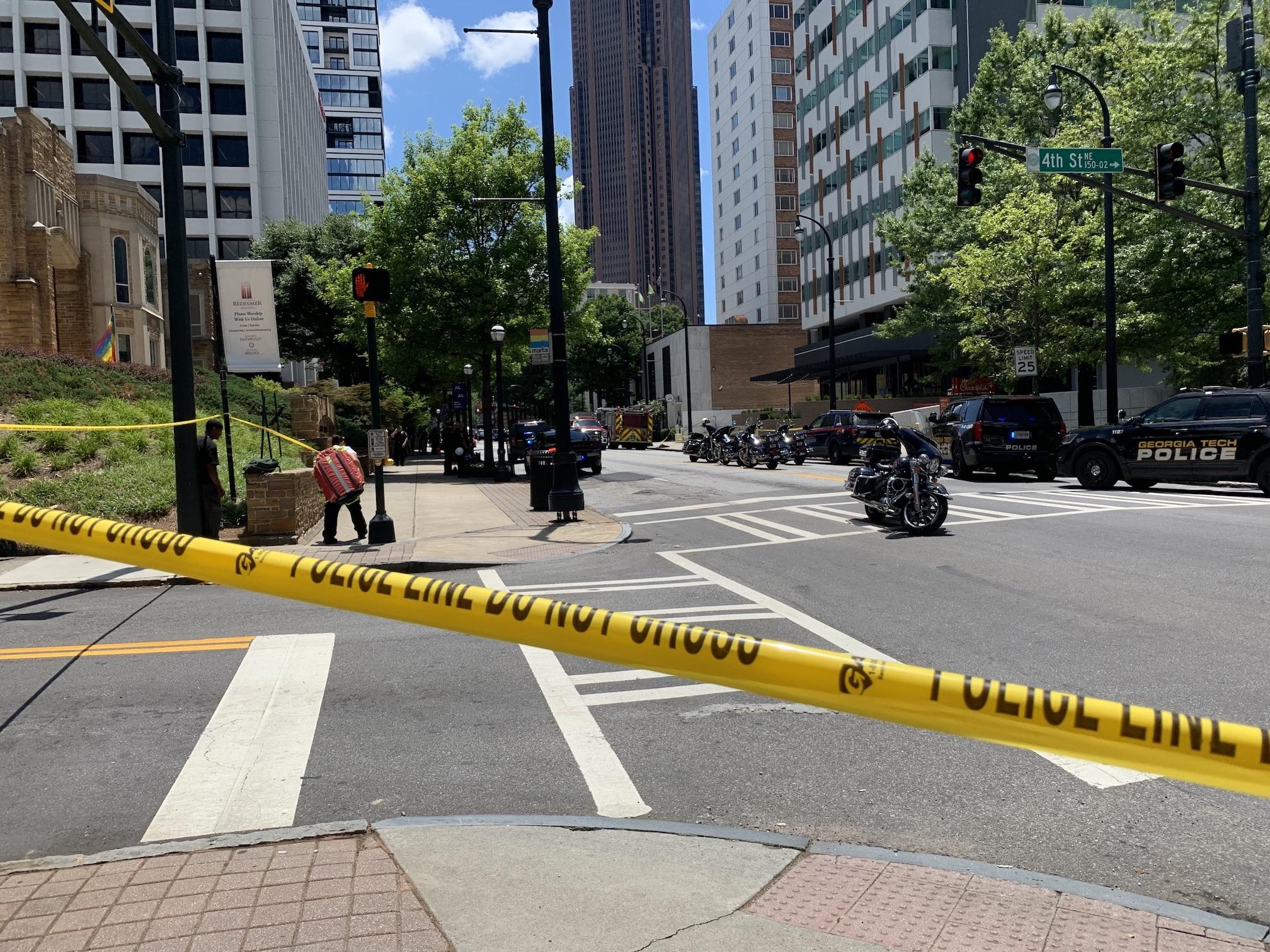 APD officer shot during 'ambush' at Midtown apartment building 1
