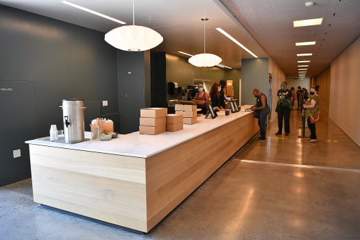 Tanya Holland's new Town Fare has opened inside Oakland Museum 1