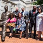 700-pound statue of George Floyd unveiled in Newark 9