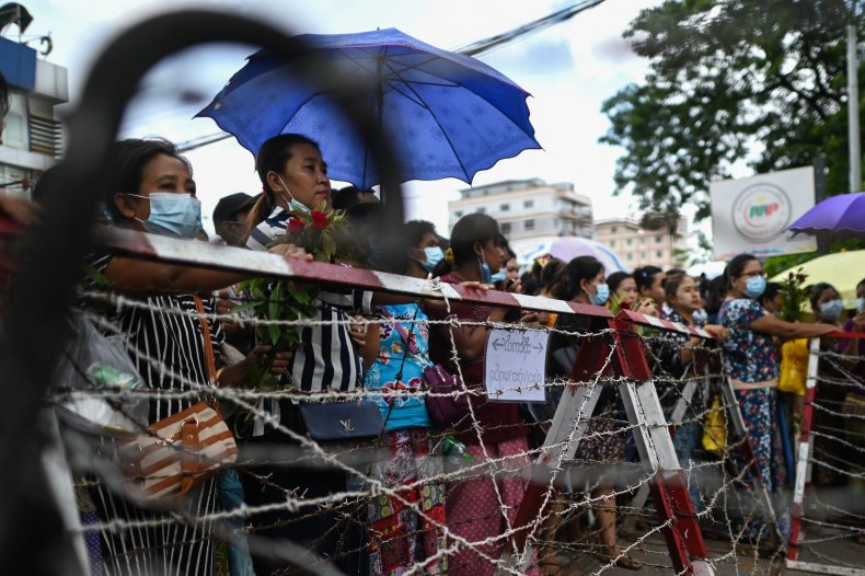 Myanmar to Release Around 2,300 Prisoners Who 'Did Not Lead' Riots Over Military Coup 1