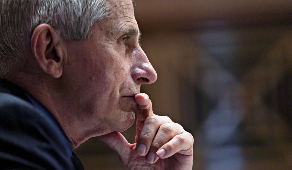 Fauci: Coronavirus 'could have been a lab leak' 1