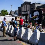 Minneapolis crews remove traffic barriers in George Floyd Square memorial, new ones appear 6