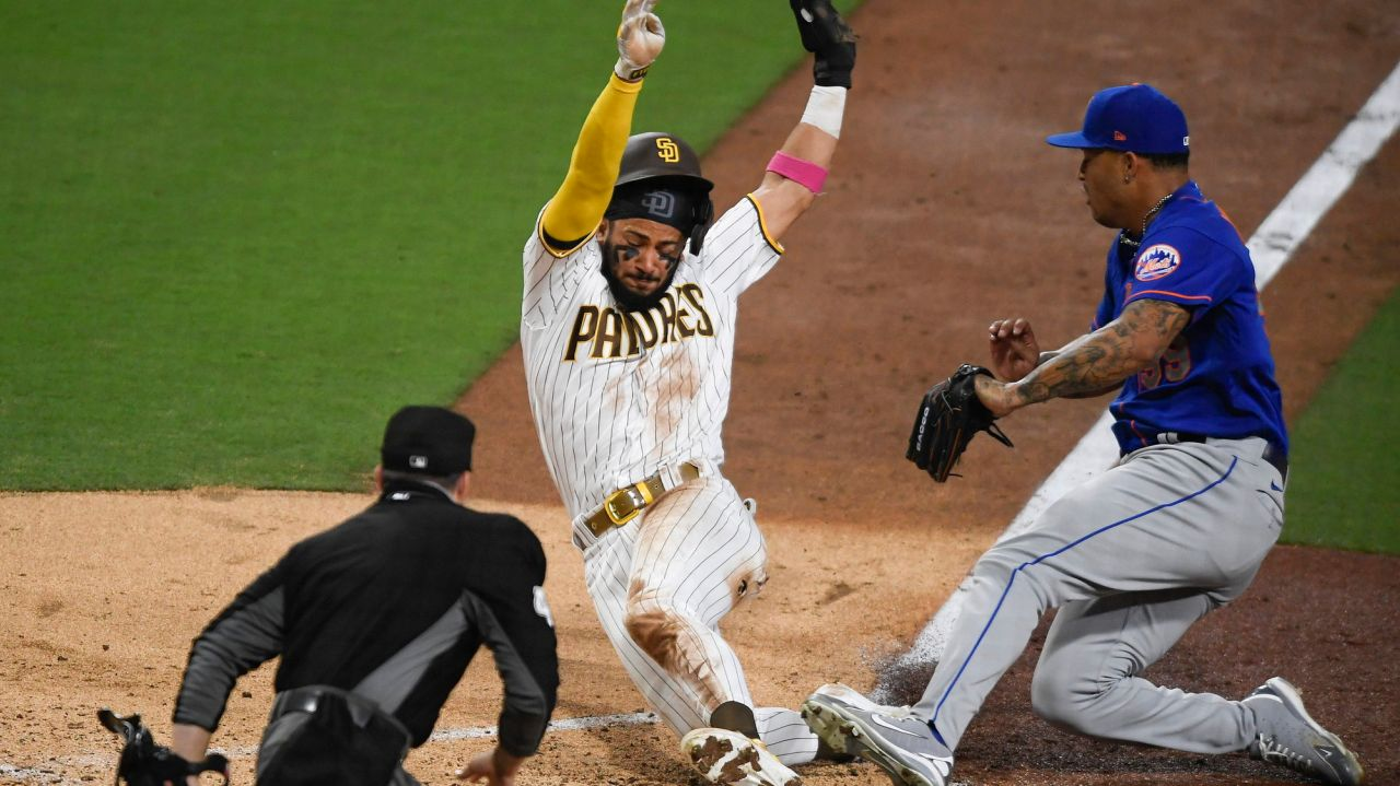 Mets' rally falls short as they drop opener to Padres 1