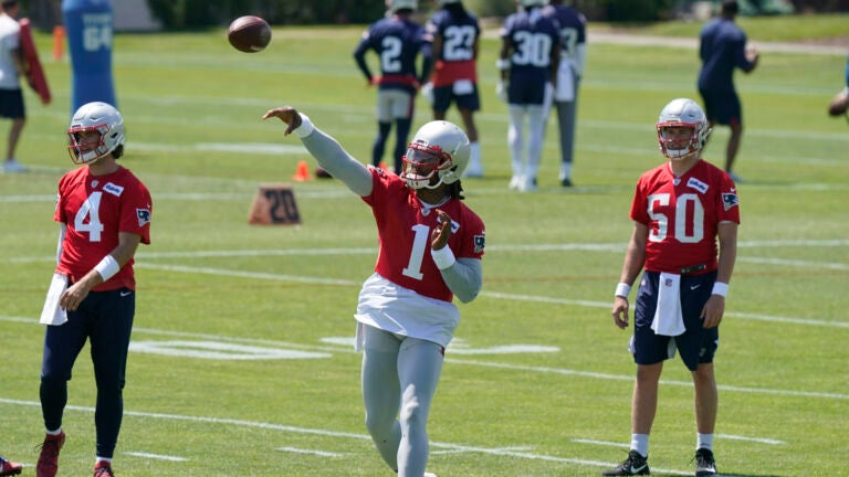 Cam Newton's hurt, and other takeaways from Friday's Patriots OTAs 1