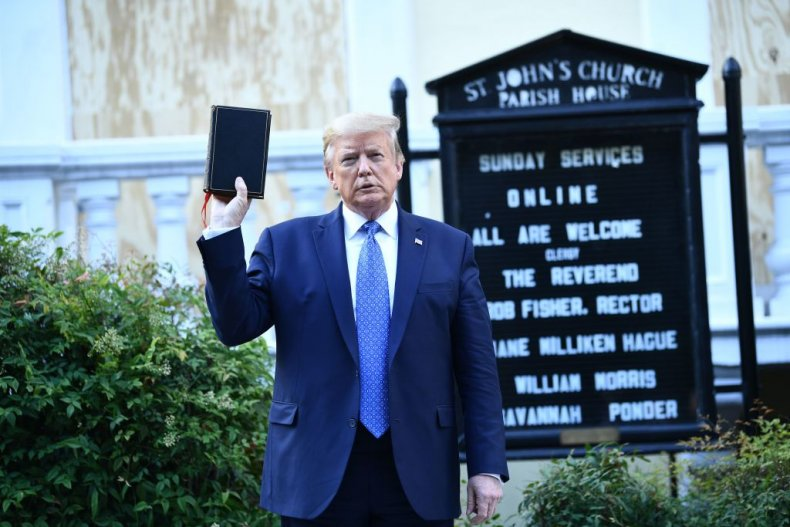 Over 12,000 Christians Want Trump 'Held Accountable' for Tear-Gassing BLM Protesters 1
