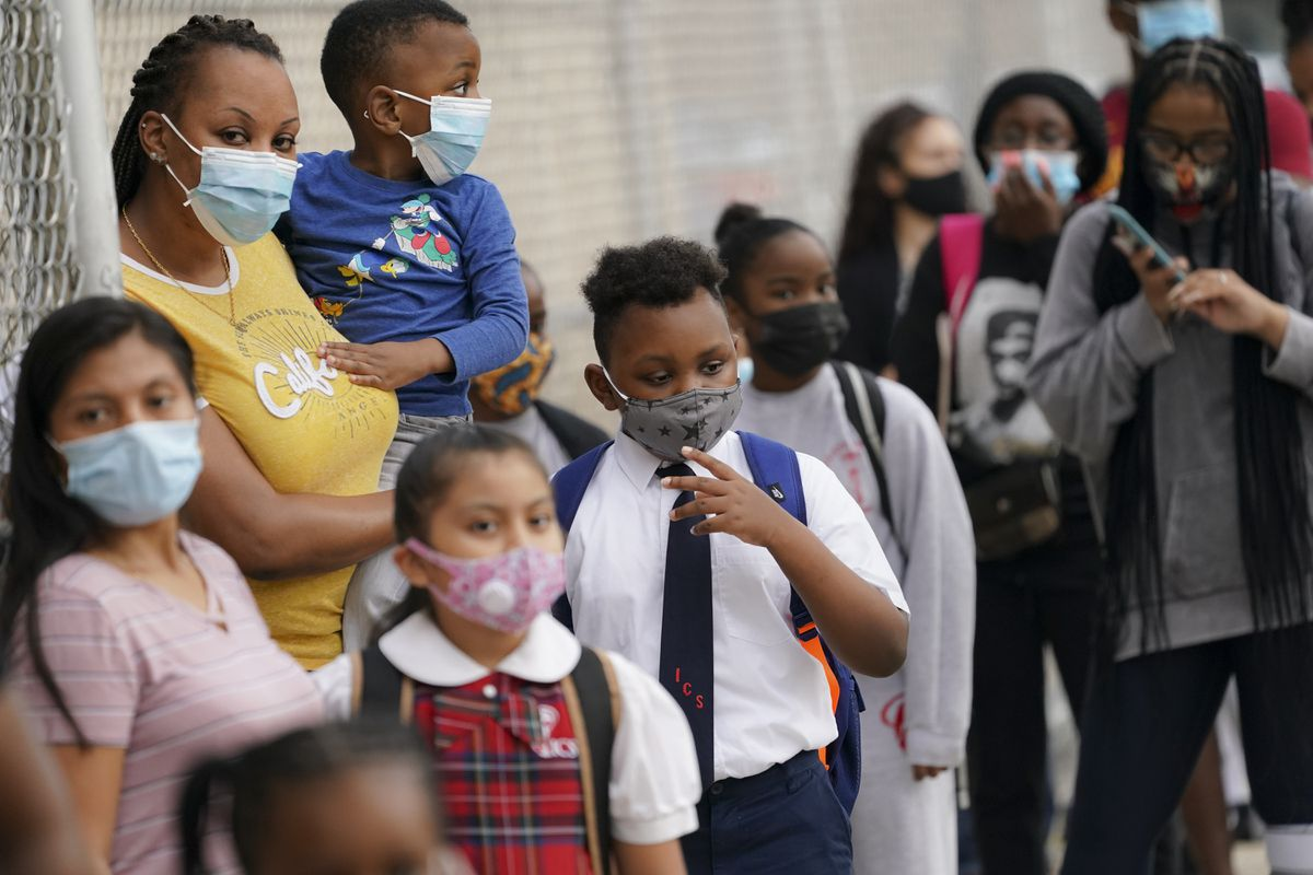 New York seeks to relax mask rules for schools and camps on Monday 1