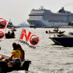 First post-COVID cruise ship leaves Venice amid environmental protests 6