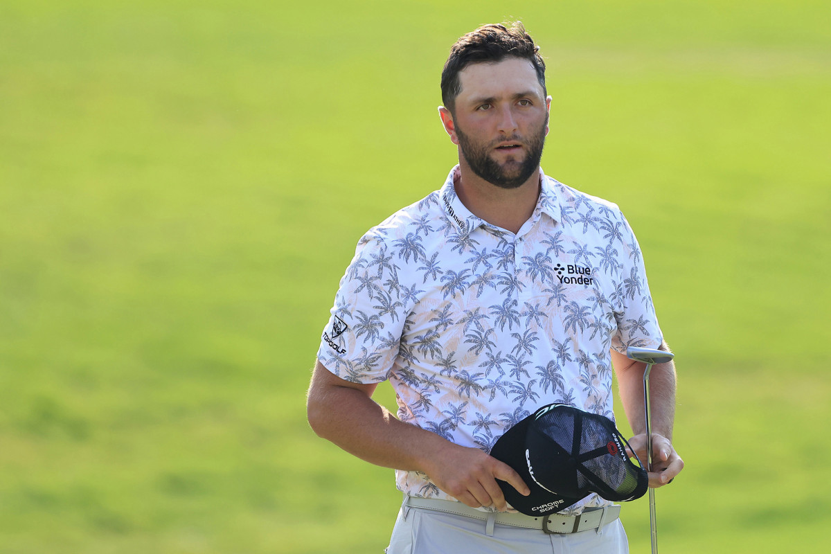 Jon Rahm withdraws with Memorial lead after testing positive for COVID-19 1