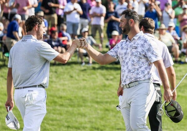 Jon Rahm Withdraws From Memorial Tournament After Positive Coronavirus Test 1