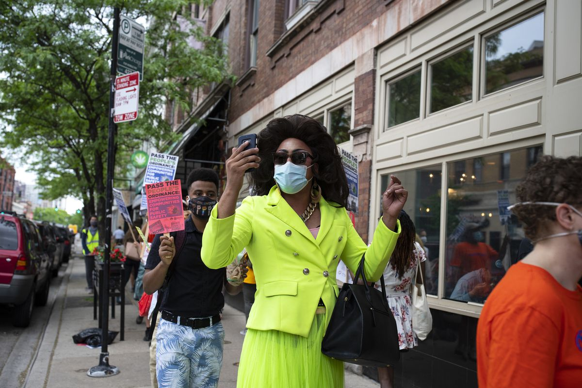 Chicago drag queens announce a follow-up to their Black Lives Matter march of 2020, which drew thousands of protesters to the North Side 1